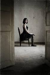 Portret of a ballerina by ElenaRacu