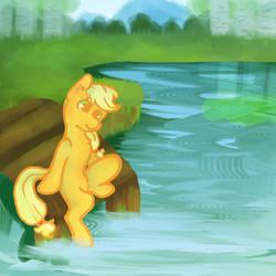 'o Sweet Lakes by Nappila
