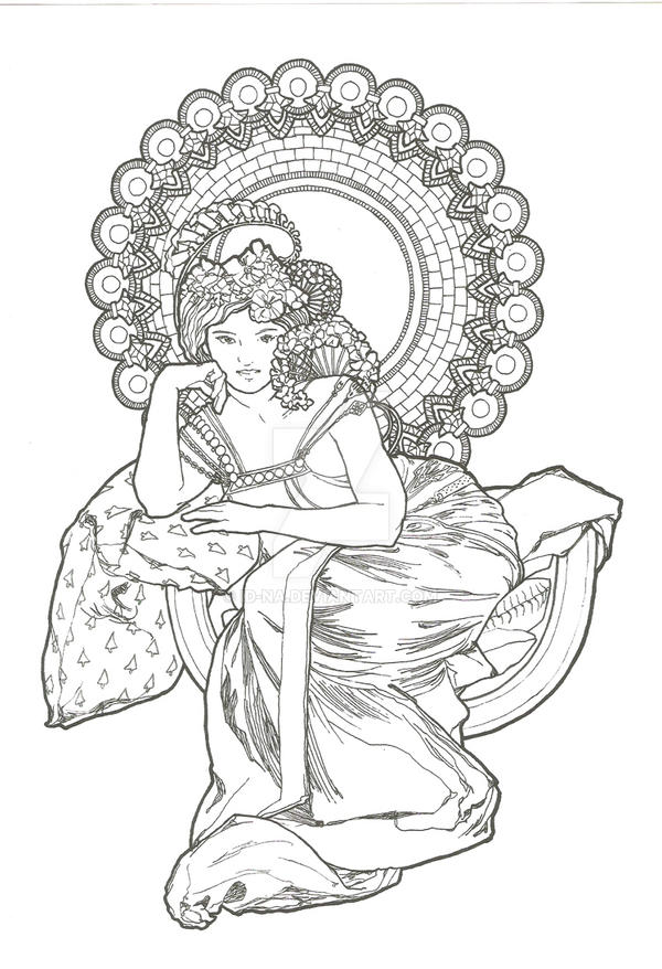Boudica Coloring Page