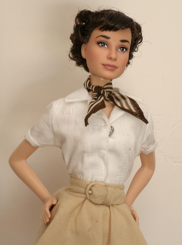 Audrey Hepburn Roman Holiday OOAK by lulemee on DeviantArt
