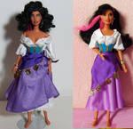 Disney Esmaralda OOAK doll