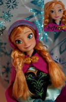 Anna of Arendelle OOAK doll by lulemee