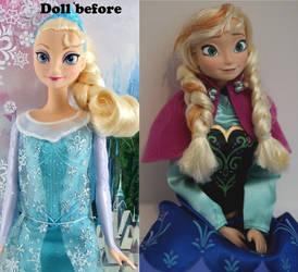 Anna of Arendelle OOAK doll