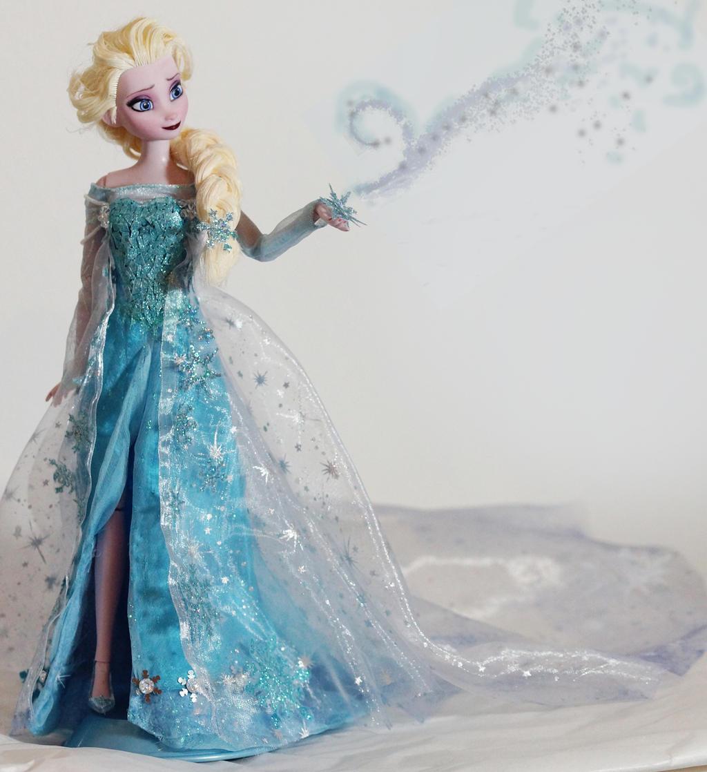 Купить Платье Для Куклы Эльзы