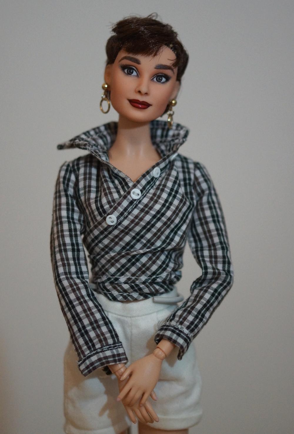Audrey Hepburn as Sabrina OOAK doll by lulemee on DeviantArt