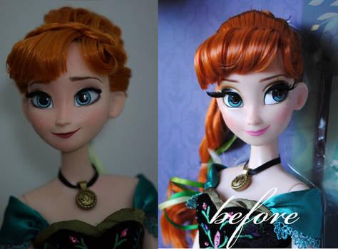 LE Anna OOAK doll