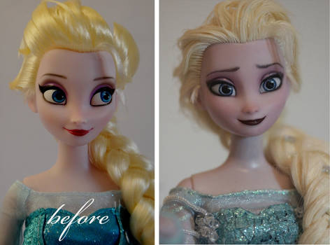 Elsa the Snow Queen repaint