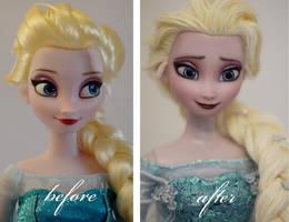 Elsa the Snow Queen OOAK