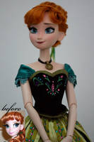 Anna of Arendelle OOAK doll