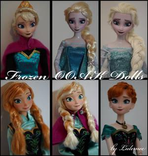 Disney Frozen OOAK dolls