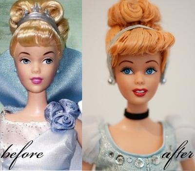 Disney Cinderella OOAK doll by lulemee