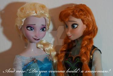 Disney Frozen OOAK Anna and Elsa