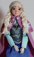 Frozen Heart - Anna OOAK doll