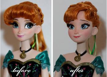 LE Coronation Anna OOAK Doll by lulemee