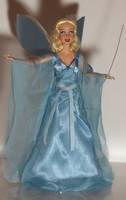 Blue Fairy OOAK Doll by lulemee