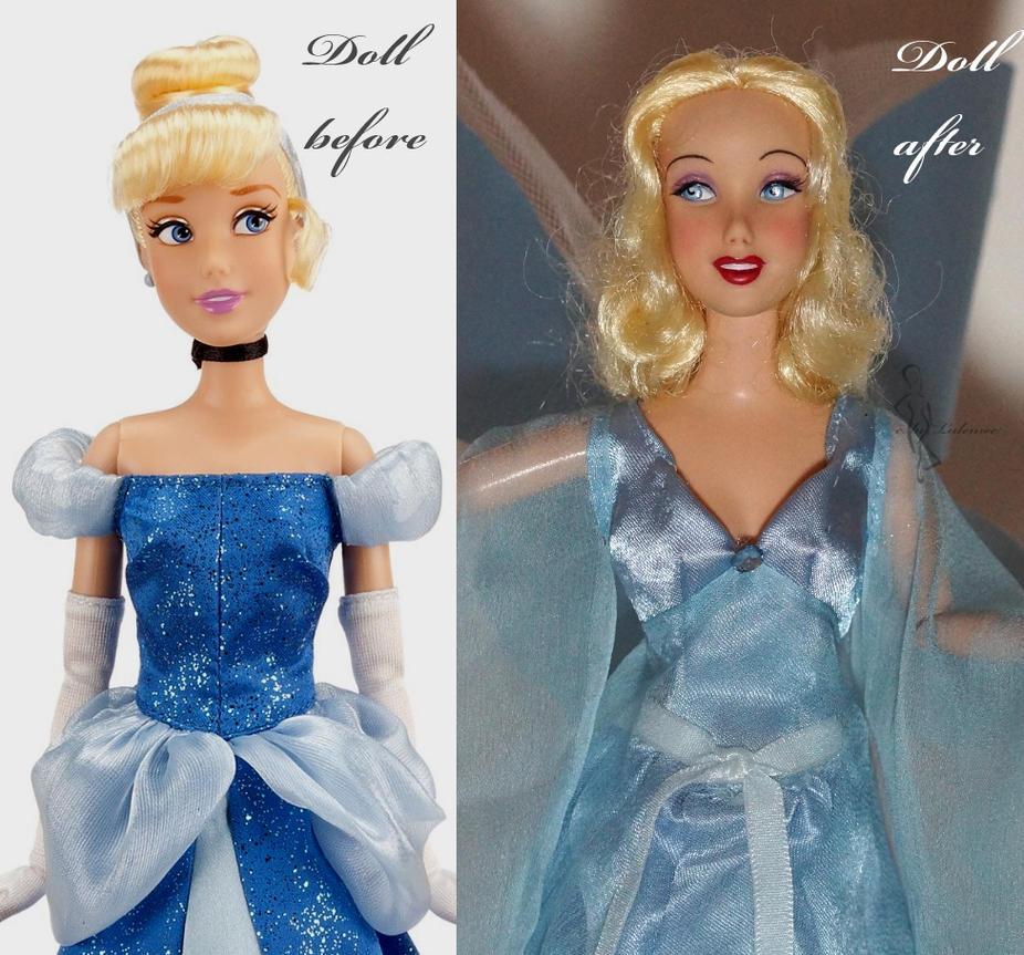 how to make ooak fairy dolls