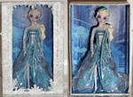 The cold anyway - Elsa OOAK Doll