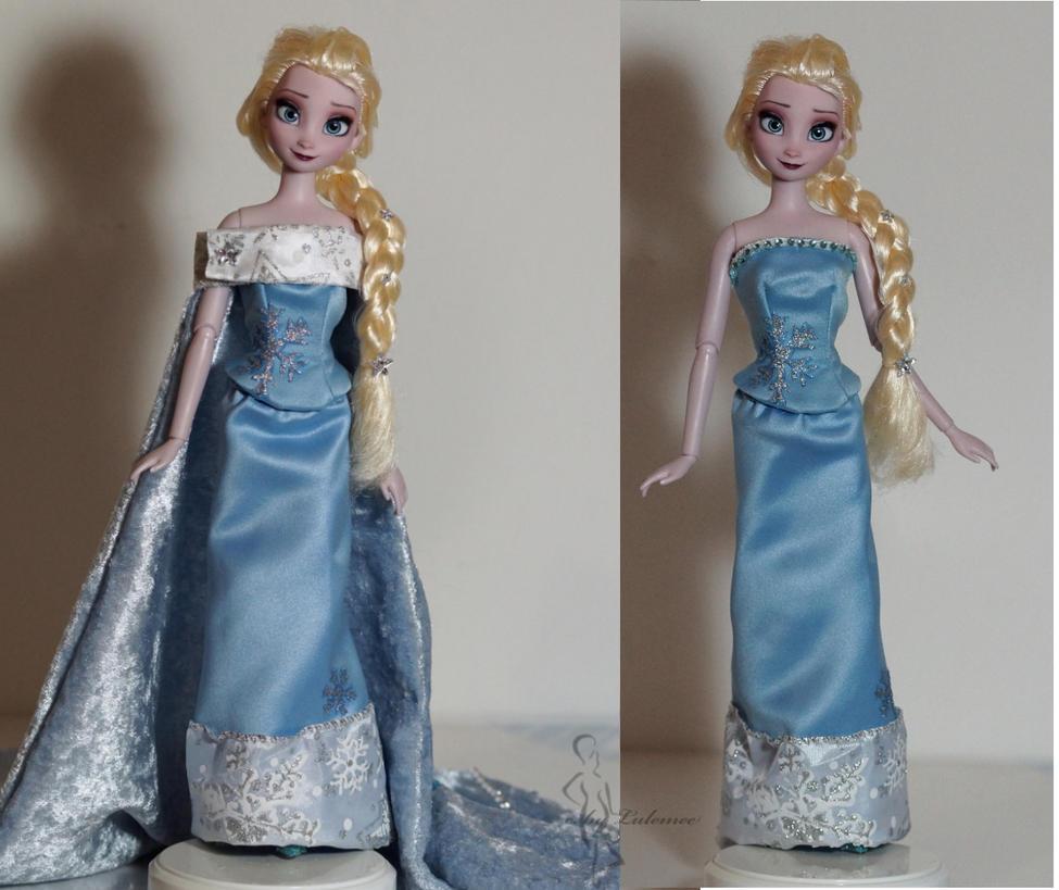 Queen Elsa of Arendelle OOAK by lulemee