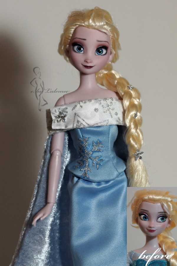 Queen Elsa of Arendelle OOAK by lulemee