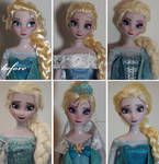 One doll - many faces!