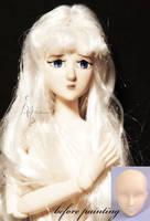 Lady Amalthea OOAK doll by lulemee