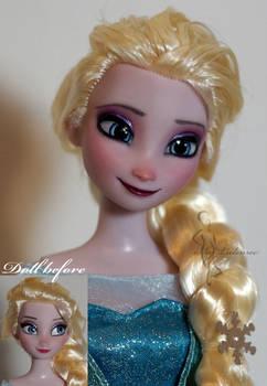 OOAK Elsa doll repaint