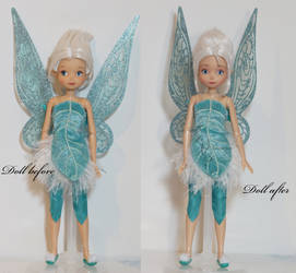 Free give away OOAK periwinkle doll