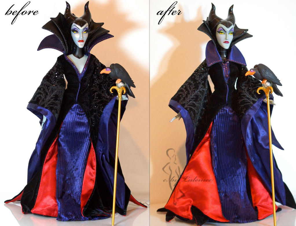OOAK Limited Edition Maleficent doll by lulemee
