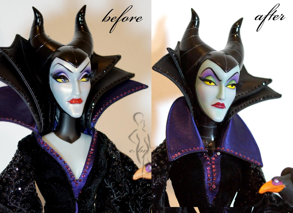 repainted maleficent and prince - photo #43