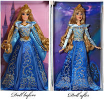 LE Aurora OOAK doll by lulemee