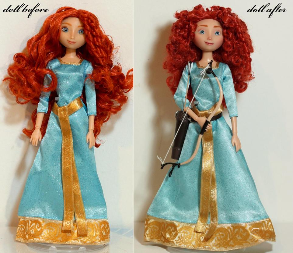 Merida OOAK doll by lulemee
