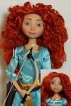 Merida OOAK doll