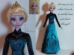 Coronation Elsa OOAK doll