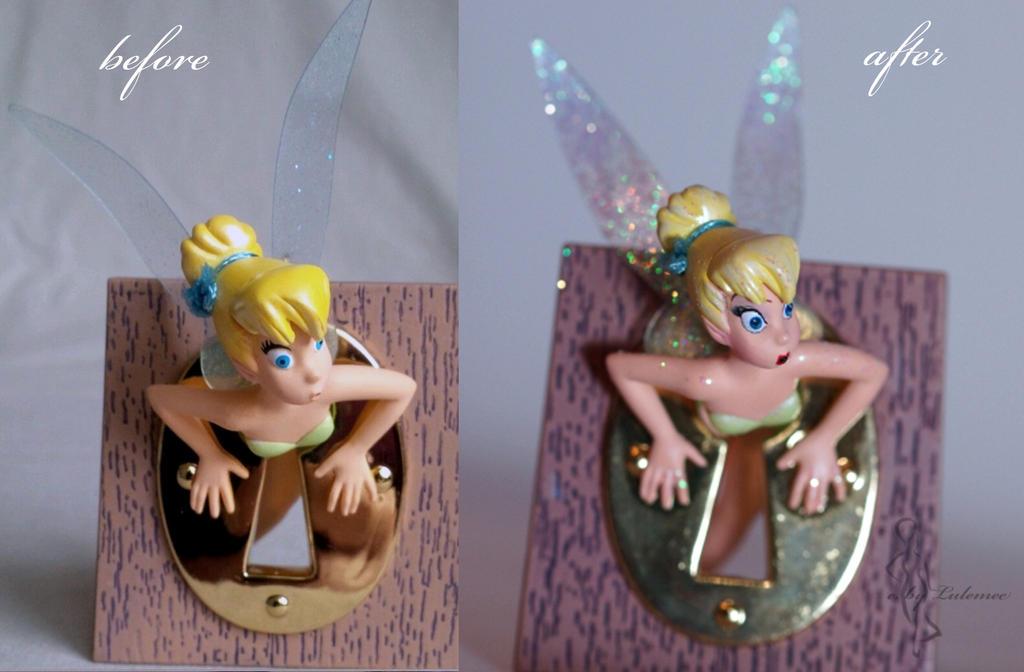 OOAK Hallmark Tinkerbell Ornament by lulemee
