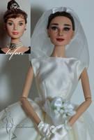 Audrey Hepburn OOAK doll by lulemee