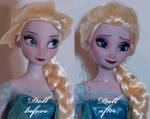 Snow Queen Elsa repaint