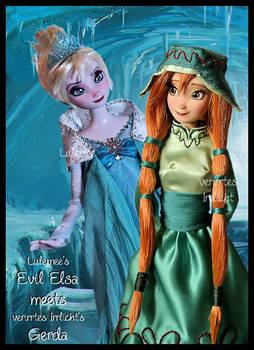 Frozen concept art ooak dolls