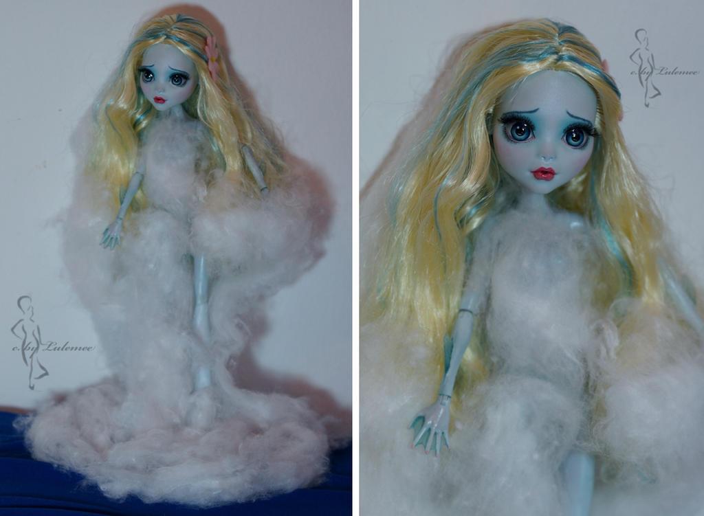 Little Mermaid OOAK doll- version 2 by lulemee