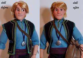 LE Kristoff OOAK doll by lulemee