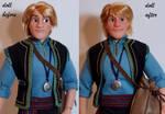 LE Kristoff OOAK doll