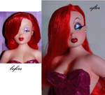 Jessica Rabbit OOAK doll