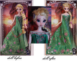 Limited Edition Frozen Fever Elsa OAAK by lulemee