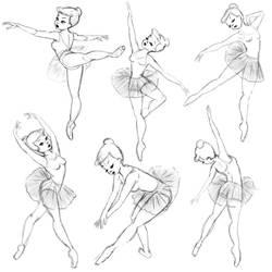 Ballerina study by lulemee