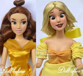Bimbette OOAK doll by lulemee