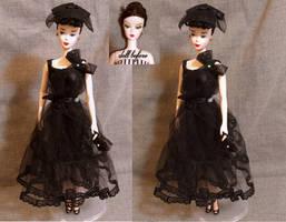 Silkstone Barbie OOAK Ponytail by lulemee