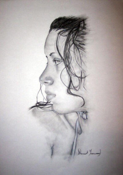 Portrait of my Sister by dyearwood