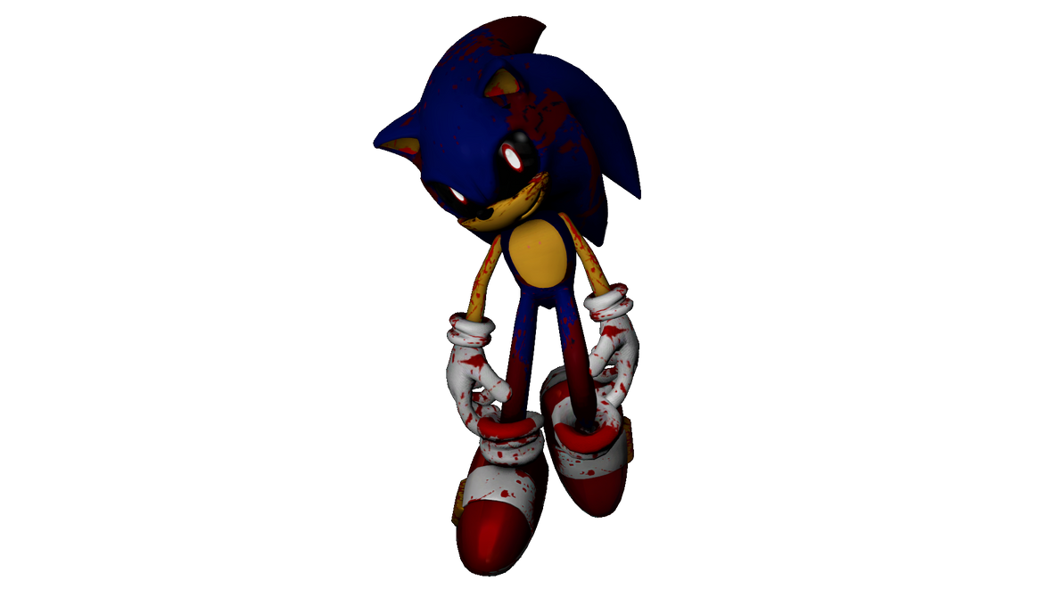 Sonic EXE Render by FusionTDraws on DeviantArt