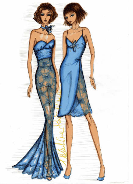 Fashion Sketches By Valentinascardina On Deviantart