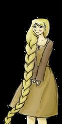 Rapunzel: Rapunzel by kikuhito