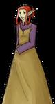 Rapunzel: Goblin Witch Mena by kikuhito